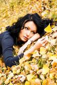 sad fall leaves