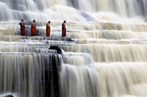 mediating monks